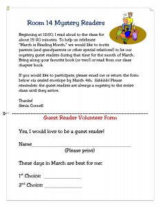 Classroom Party Letter to Parents Template - Celebrate the Joy Of Reading All Month Long