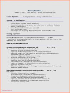 Cna Cover Letter Template - New Cna Cover Letter Cover Letter Cna Unique Fresh Hr Resume