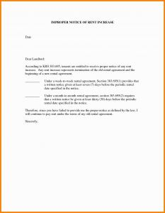 Collection Letter Template Final Notice - Rent Increase Letter Template New Zealand Fresh How to Write Rent