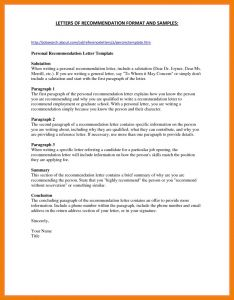 College Admission Recommendation Letter Template - 3 4 Letters Of Re Mendation for Nursing School