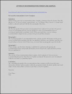 College Admissions Recommendation Letter Template - General Letter Re Mendation Template Downloadable Graduate