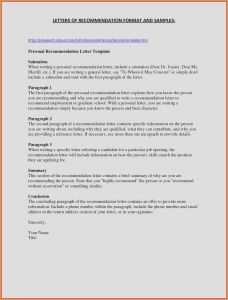 College Admissions Recommendation Letter Template - Sample Character Reference Letter for School Admission Sample