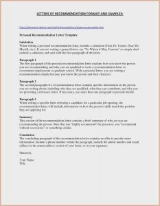 College Letter Of Recommendation Template - 28 Free Re Mendation Letter Sample Model Best Sample