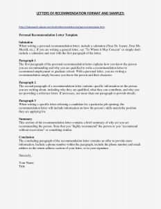 College Letter Of Recommendation Template - Example Letter Application for Graduate School Inspirationa