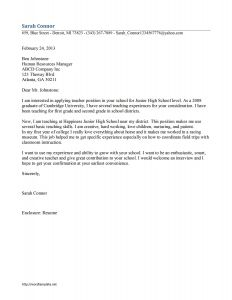 Community Service Letter Template for Students - Application Letter for Experience Certificate for Teacher Penn State