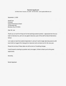 Conditional Acceptance Letter Template - Job Fer Thank You Letter and Email Samples