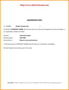 Conditional Offer Of Employment Letter Template - Conditional Fer Employment Letter Template Examples