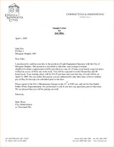 Conditional Offer Of Employment Letter Template - Conditional Fer Employment Letter Template Collection