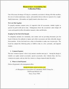 Condo Special assessment Letter Template - Sample Hoa Violation Letters Inspirational Resume Step by Step