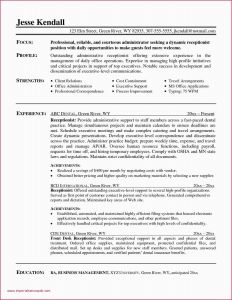 Confidential Letter Template - Resume Examples for Medical Fice Receptionist 30 Great