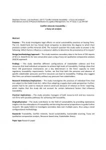Conflict Minerals Compliance Letter Template - Pdf Conflict Minerals Traceability – A Fuzzy Set Analysis