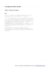 Consignment Letter Template - Best S Of Fee Increase Letter Example Consignment Rate
