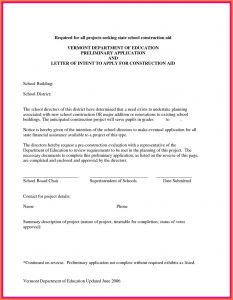 Construction Letter Of Intent Template - Letter Intent Contract Inspirationa Letter Intent Template