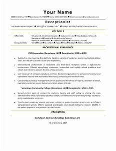 Consultation Letter Template - Consulting Resume Template Awesome Resume Mail format Sample Fresh