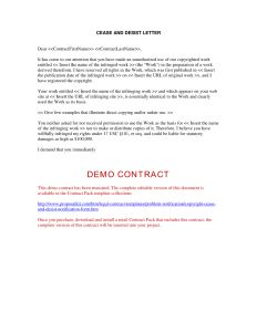 Copyright Cease and Desist Letter Template - Cease and Desist Letter Template Business Name Sample