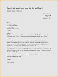 Cover Letter for Job Application Template - 26 Free How to Write A Cover Letter for Employment New