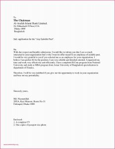 Cover Letter for Job Application Template - Sample Cover Letter for Bank Job Application New Resume Cover Letter