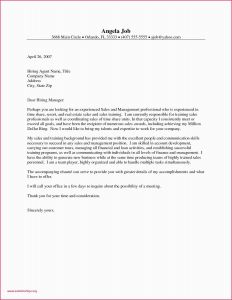 Cover Letter Free Template - Property Manager Resume Cover Letter Sample Resume for Property