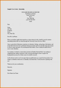 Cover Letter Heading Template - How to Write Cover Letter Internship Free Resume Templates