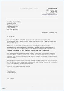 Cover Letter Heading Template - Free Resume Cover Letter Template Collection