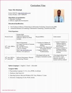 Cover Letter Template Computer Science - 52 Sample Resume Fresh Graduate Puter Science