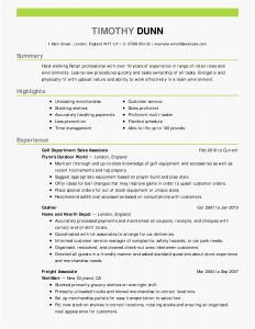 Cover Letter Template Examples - Nature Cover Letter Example New Fix My Resume Lovely Fresh Entry