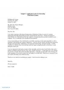 Cover Letter Template for College Application - Application Letter Samples for Internship Unique Fresh Sample