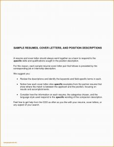 Cover Letter Template for Internship - Cover Letter Examples for Job Hunting Fresh Job Fer Letter Template