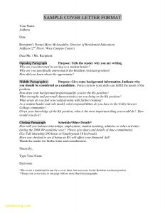 Cover Letter Template for Internship - Download Luxury What to Write In A Cover Letter for Internship