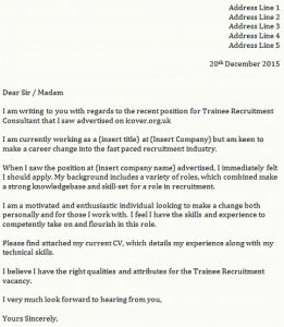Cover Letter Template for It Job - It Cover Letters New who to Address Cover Letter to New Job Letter