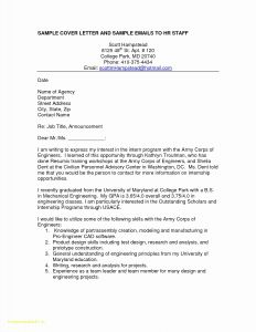 Cover Letter Template for Job Application - 20 Technical Cover Letter Template
