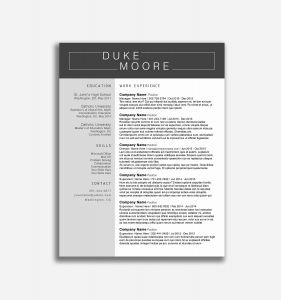 Cover Letter Template Mac - Word Resume Template Mac Fresh Free Resume Template Word Fresh