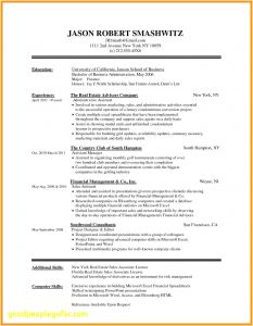 Cover Letter Template Mac - 46 Fresh Free Resume Templates for Mac