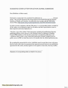 Cover Letter Template Muse - 39 Luxury Good Example Cover Letters