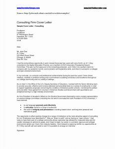 Cover Letter Template Purdue Owl - Purdue Owl Cover Letter Lovely Cover Letter Consulting Environmental