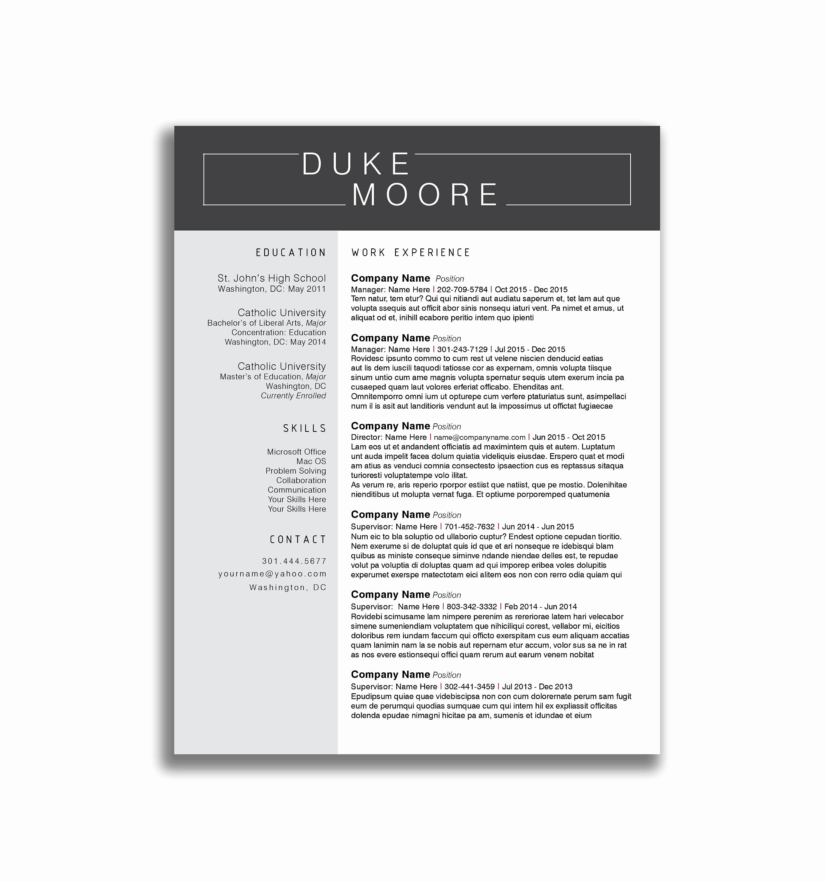 11 cover letter template purdue owl samples