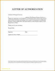 Credit Card Authorization Letter Template - Sample Authorization Letter for Claiming Nso Birth Certificate