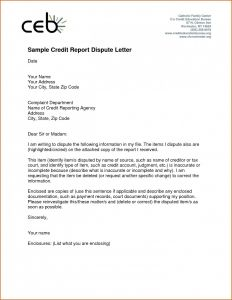 Credit Dispute Letter Template - Letter format to Collection Agency New Dispute Letter format to