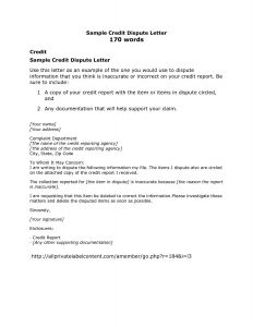 Credit Dispute Letter Template - Credit Dispute Seminars Archives Land Of Template