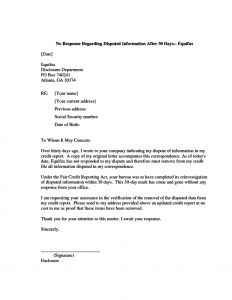 Credit Dispute Letter Template Pdf - Nice Dispute Letter Template Template Free Section 609