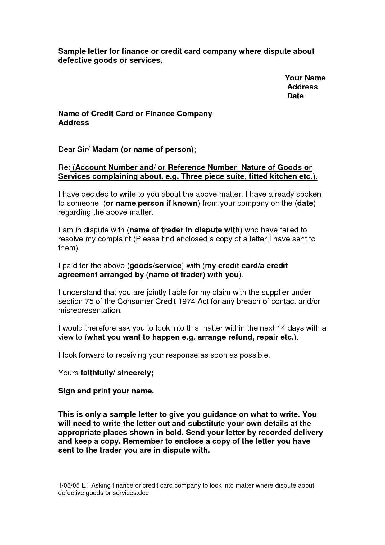 credit dispute letter template pdf 609 dispute letter to credit bureau template gallery