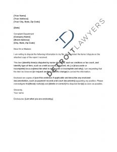 Credit Inquiry Removal Letter Template - Credit Inquiry Removal Letter Template Collection