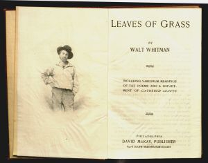 "Crummy Letter Template - Crummey Letter Template Elegant Title Page ""leaves Grass"