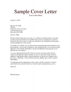 Daycare Letter to Parents Template - Daycare Letter to Parents Template Sample