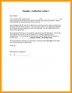 Debt Collection Letter Template - Collection Letter Refrence Template Debt Collection Letter Template