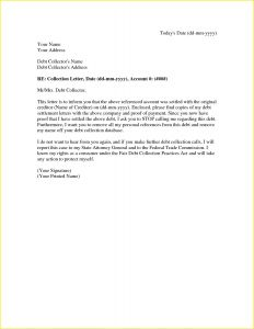 Debt Collection Letter Template - Debt Collection Letter From attorney Awesome Debt Collector Letter