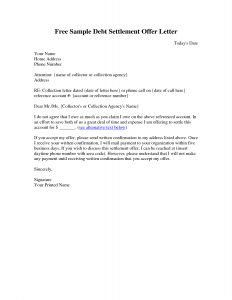Debt Collection Letter Template - Debt Collection Template Letter Free Examples