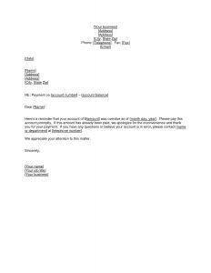 Debt Validation Letter Template - Business Collection Letter Template Download