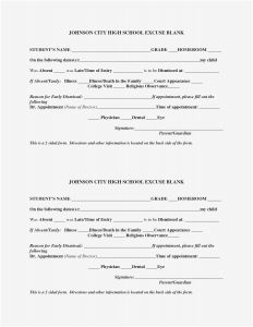 Dental Excuse Letter Template - Dental Excuse Letter Template Collection