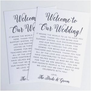 Destination Wedding Welcome Letter Template - Wedding Wel E Bag Letter Template Collection